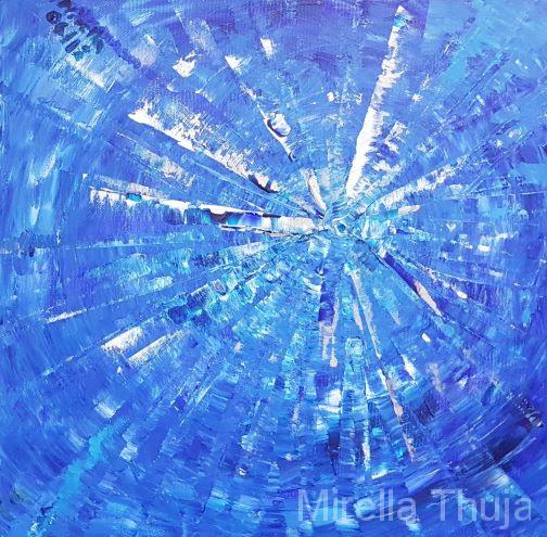 Sternentrilogie blau