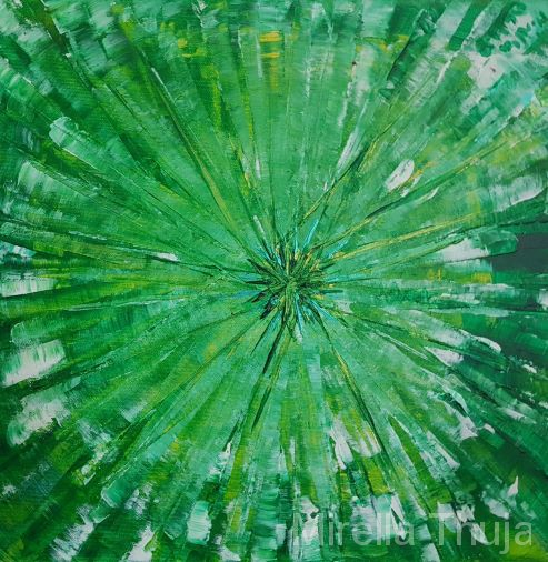 Sternentrilogie grün